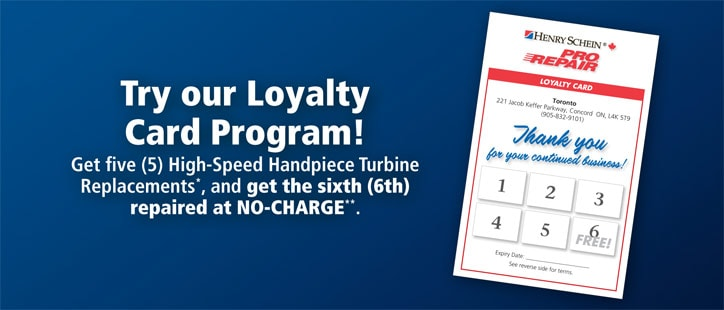 Try our Loyalty Card Program!