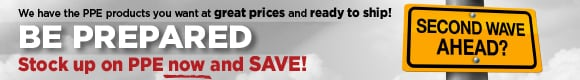 PPE Power Sale - Masks, Gowns, Sanitizer and more at Unbelievable Prices!
