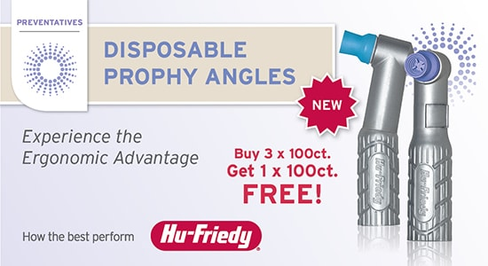 NEW! Disposable Prophy Angles - 3+1 Free!