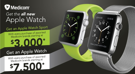 Medicom - Get the all new Apple Watch!
