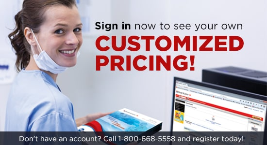 Sign in now to see your own customized pricing! Don't have an account? Call 1-800-668-5558