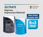 Jeltrate Alginate Impression Material - Henry Schein Exclusive Offer - 6+3 Free!