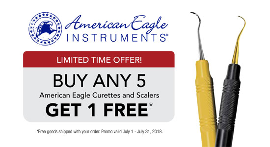 American Eagle Instruments - Buy Any 5 American Eagle Curettes and Scalers Get 1 Free!