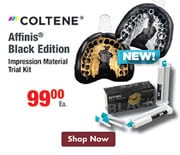 NEW - Coltene Affinis Black Edition - $99.00