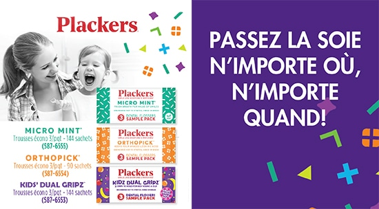 Plackers - Floss Anywhere, Anytime!
