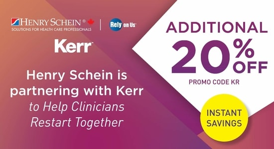 Kavo Kerr and Henry Schein Partner for Savings