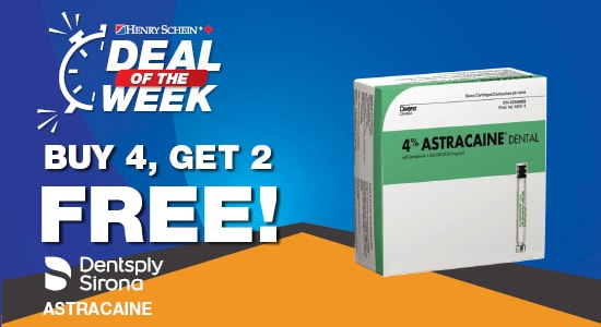 Deal of the Week - 4% Astracaine