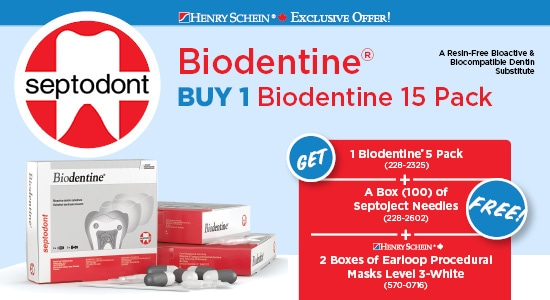 BUY 1 Biodentine 15 Pack